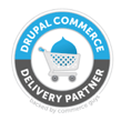 Logo de Drupal Commerce